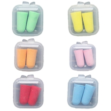 Soft-Ear-Plugs Protective Sleep-Box-Packed Noise-Reduction Tactical Foam for Slow-Rebound