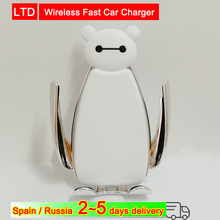 Wireless Fast Car Charger Charging For Huawei iPhone Samsung Galaxy Smartphone Xiaomi Phone