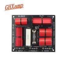 GHXAMP Divisor de woofer agudos de 2 vías, 400W, Tweeter y Bass Crossover 8ohm, 1,5 khz con bombilla con protección contra sobrecorriente, 1 ud.