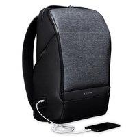 Korin Design FlexPack GO Anti theft Backpack Men Travel Bag USB Charging Laptop Backpack 15.6 inch School Bag for Teenage Boys