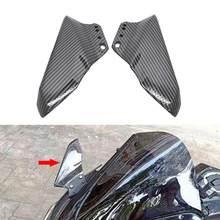 Motocykl boczne Winglet skrzydło zestaw Spoiler Fairing dla BMW S1000RR S1000R HP4 wyścig R1250RS Kawasaki Ninja 400 2018 Honda CBR600RR