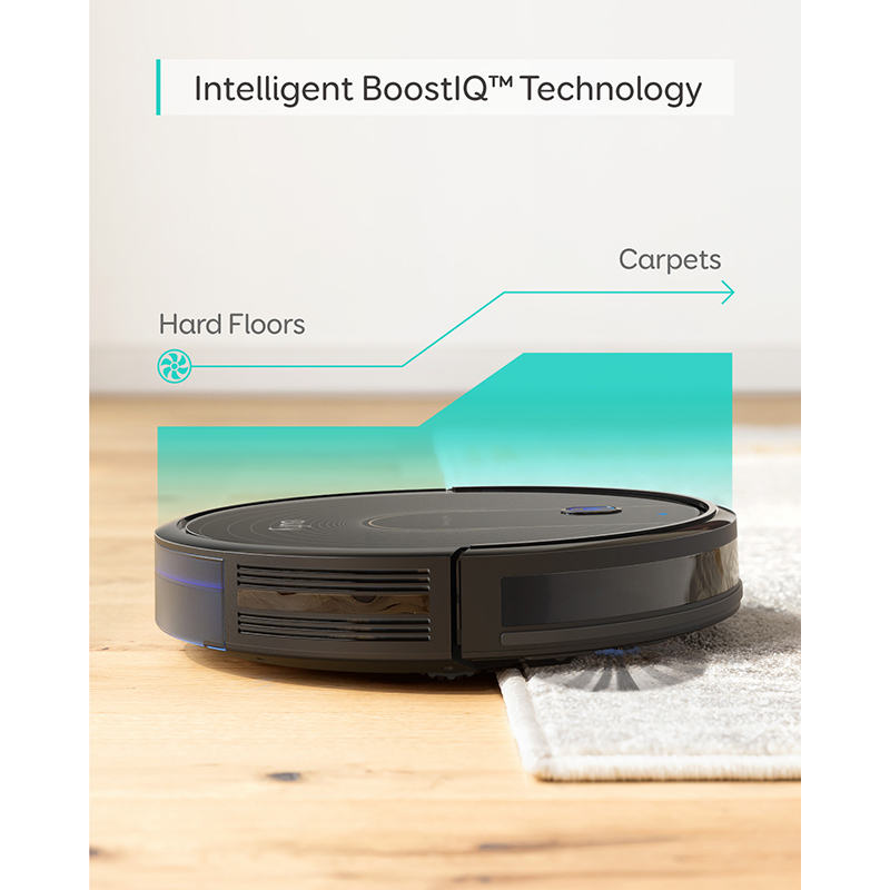 eufy [BoostIQ] RoboVac 15C, Wi-Fi, Super-Thin, 1300Pa Strong Suction Quiet, Self-Charging Robotic Vacuum Cleaner 2