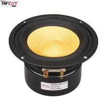 "HIFIDIY LIVE HIFI 4 inch 4.5"" Midbass Woofer speaker Unit  4 / 8 OHM 50W Glass fiber vibratory basin Loudspeaker BK4 116S"