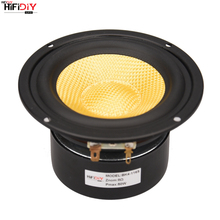 """Hifibricolage LIVE HIFI 4 pouces 4.5 """"Midbass Woofer haut parleur unité 4 / 8 OHM 50W fiber de verre vibreur bassin haut parleur BK4 116S"""