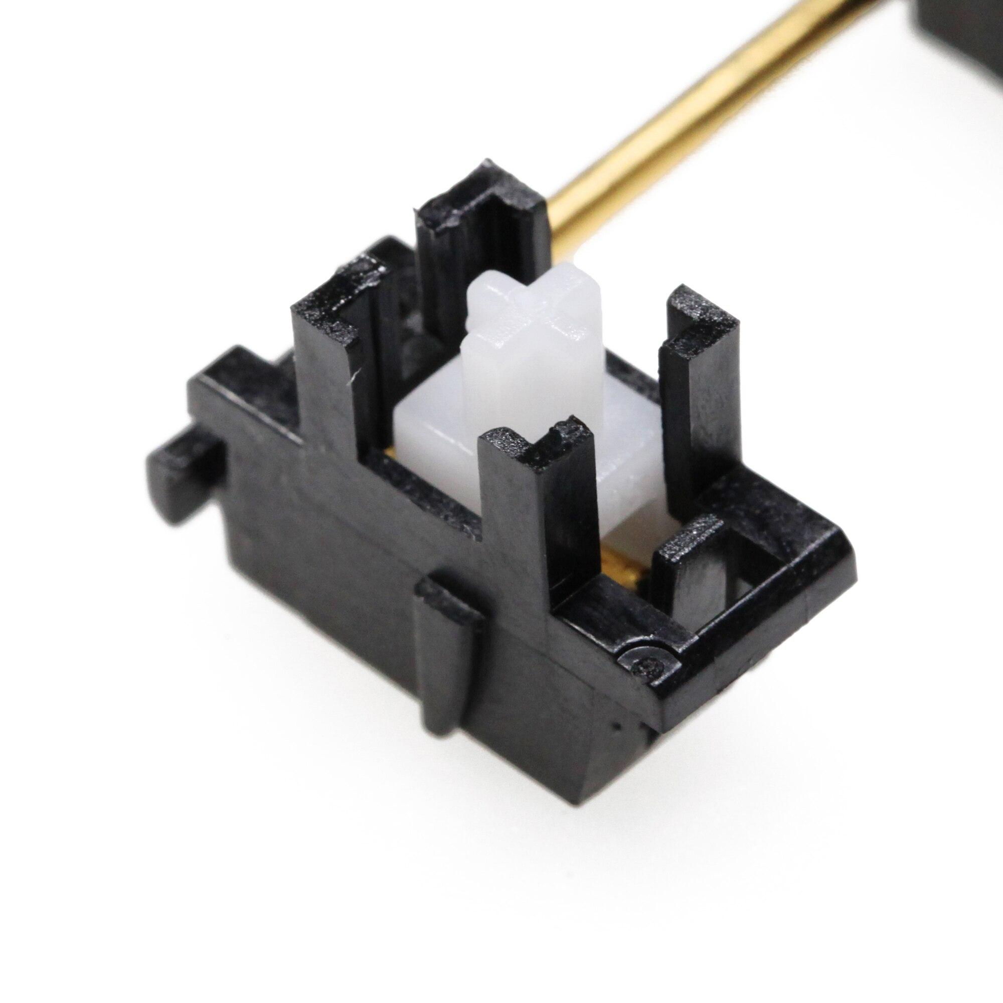 Everglide Panda siyah beyaz altın kaplama plakalı sabitleyici özel mekanik klavye plaka YC66 Zeeyoo 68 YC96 Womier