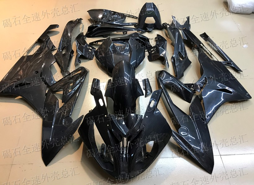 For <font><b>BMW</b></font> <font><b>S1000RR</b></font> 2015 2016 2017 2018 year complete fairing kit bodywork 100% <font><b>carbon</b></font> <font><b>fiber</b></font> fairings Motorcycle Full Cover image
