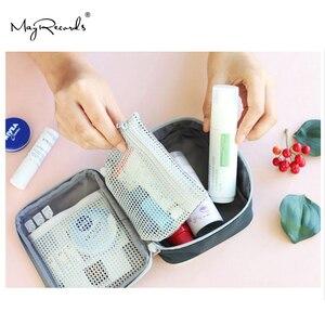 Image 5 - 13*10*4cm mignon Mini sac de médecine Portable trousse de premiers soins médicaux Kits durgence organisateur en plein air ménage pilule sac