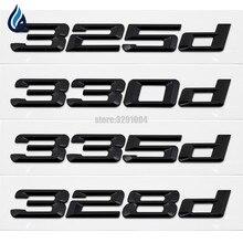325d 328d 330d 335d trasera de la tapa del maletero emblema insignia letras para BMW Serie 3 E21 E30 E36 E46 E90 E91 E92 E93 F30 F31 F34