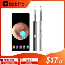 BEBIRD – oreillette intelligente sans fil R1 300W, Endoscope Intelligent de haute précision, tige de nettoyage des oreilles, Otoscope, Endoscope, Endoscope