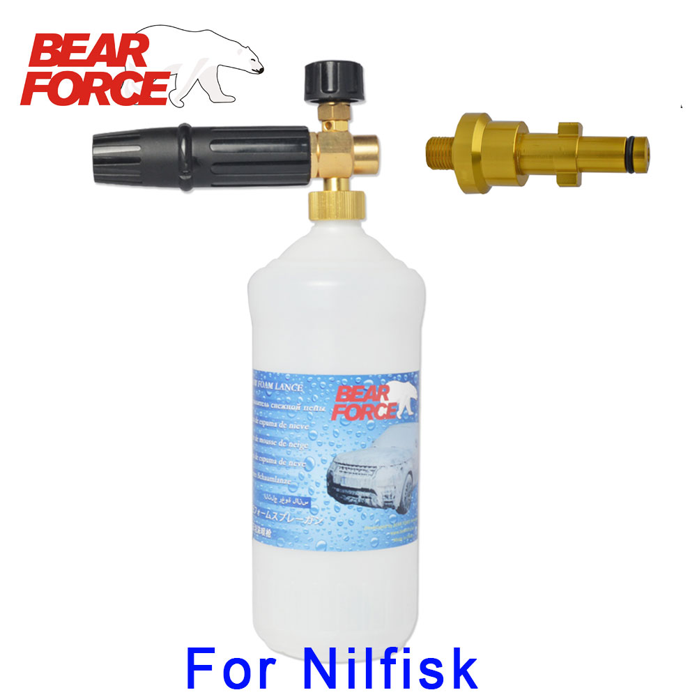 Foam Nozzle Gun Cannon/ Soap Detergent Sprayer/ Snow Foam Lance/ Foam Generator For Nilfisk High Pressure Washer Car Washer