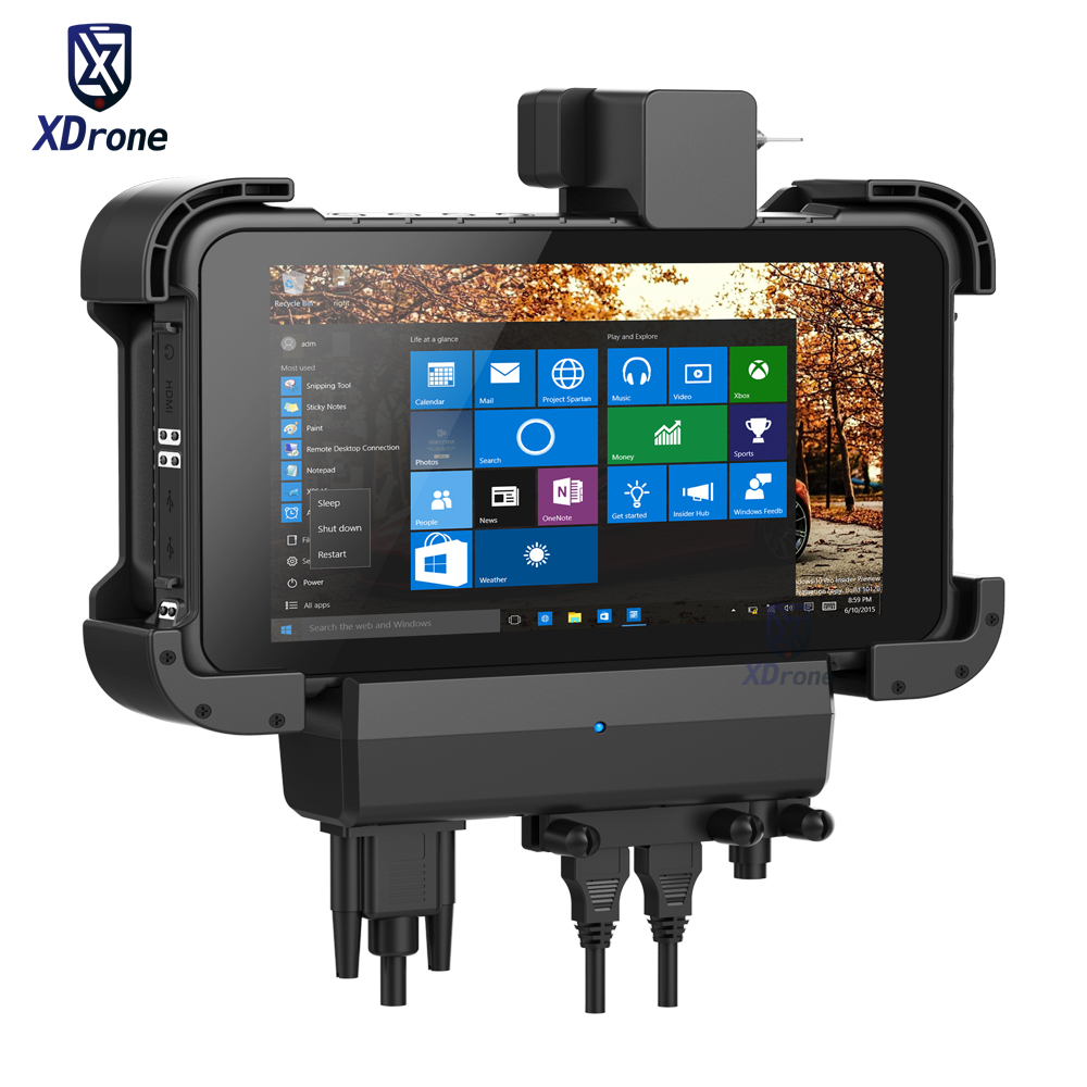 Original K86 Rugged Windows Tablet Car Holder Bracket RS232 USB IP67 Extrem Waterproof 8