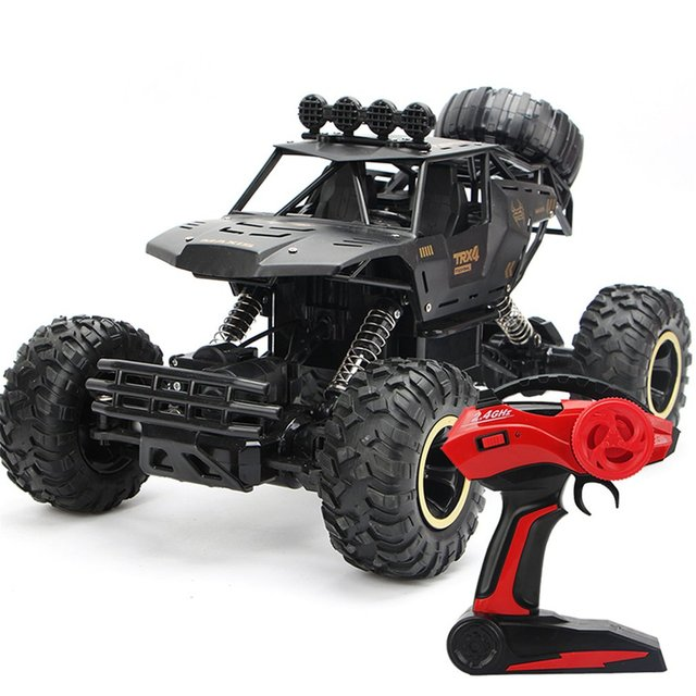 RC Car 1/12 4WD Monster Truck Rock Crawler Large Size Remote Control  Off Road Car Waterproof 2.4Ghz Remote Control cars for Kid 1