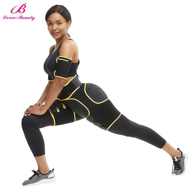 Women Neoprene Slimming Belt Body Leg Shaper Weight Loss Fat Burning Waist Trainer Sweat Waist Belt  Workout Thigh Shaper 3