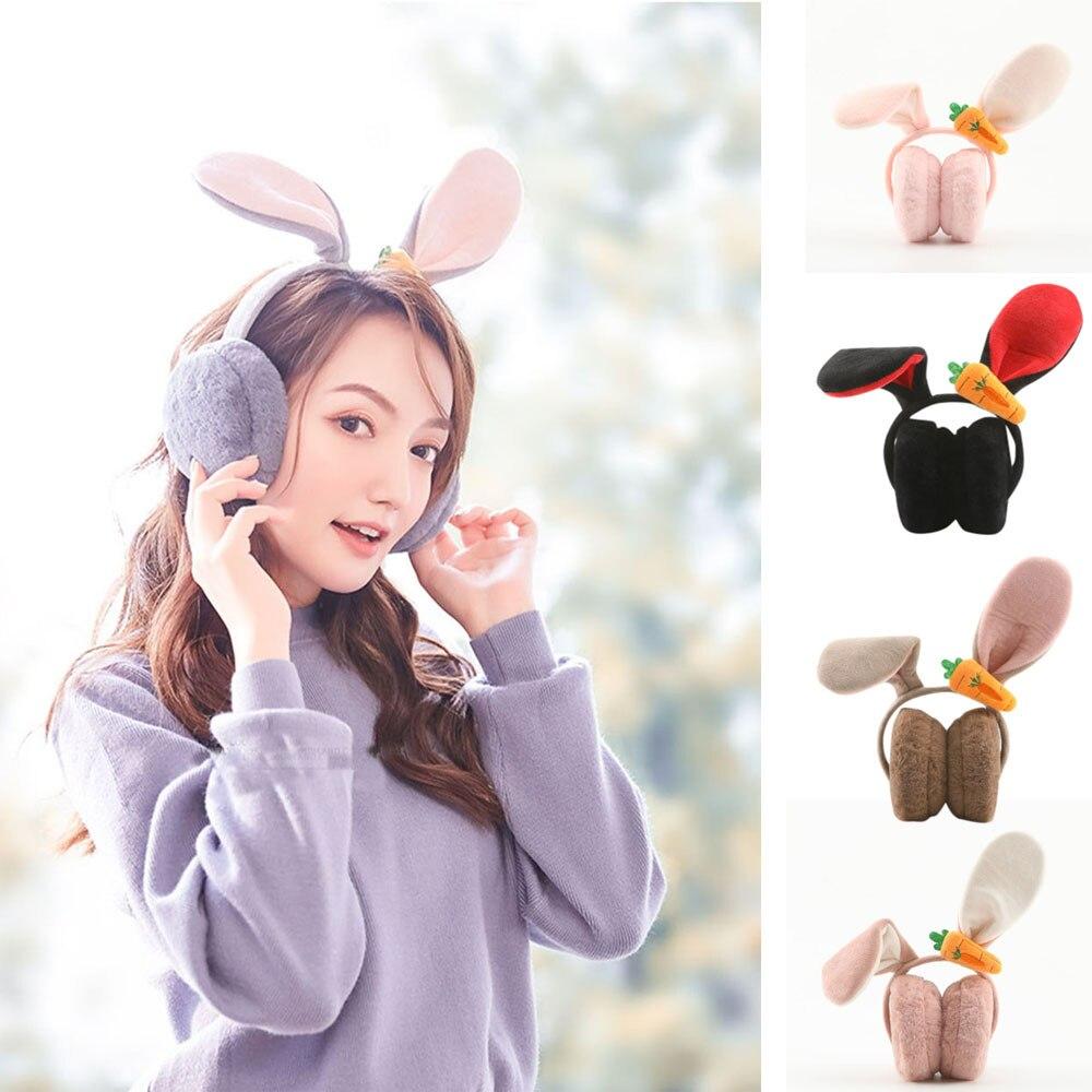 Orejeras De Invierno Earmuffs Ear Muffs Winter Accessories Orejeras Earmuff Fashion Winter Warm Plush Ear Muffs Cute Rabbit Z4