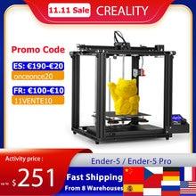 Creality Ender 5/Ender 5 Pro  3D Printer DIY Kit 220*220*300mm Build Volume with Upgrade Silent Motherboard PTFE Tubing Extruder