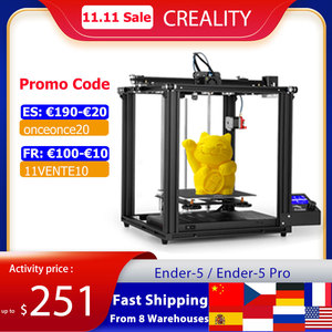Image 1 - Creality Ender 5/Ender 5 Pro  3D Printer DIY Kit 220*220*300mm Build Volume with Upgrade Silent Motherboard PTFE Tubing Extruder