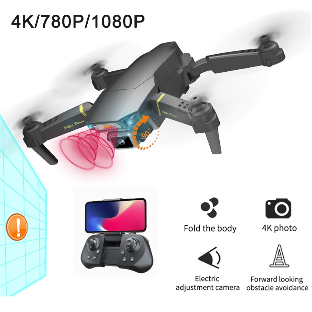 GD89 Pro Drones with Camera HD 4K/1080P/720P Wide Angle Obstacle Avoidance Helicopter FPV RFT Quadcopter Drone Gift image