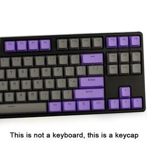 Image 4 - لوحة مفاتيح ميكانيكية GK61 خلفية مزدوجة اللون PBT مفتاح 104/87 لوحة مفاتيح ميكانيكية لوحة مفاتيح ANNE Ikbc Cherry MX