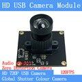 HD 120FPS MJPEG USB модуль камеры без искажений цвет Центральный затвор высокоскоростной OTG Windows Android Linux UVC 720P USB веб-камера