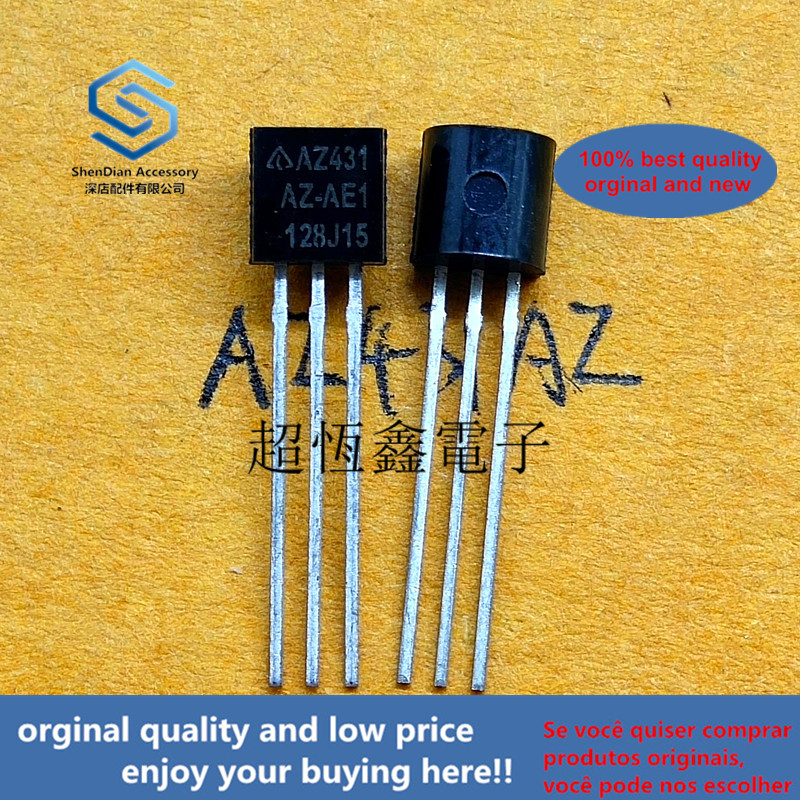 10pcs 100% Orginal New Best Qualtiy AZ431AZ-AE1 AZ431AZ AZ431 ADJUSTABLE PRECISION SHUNT REGULATORS