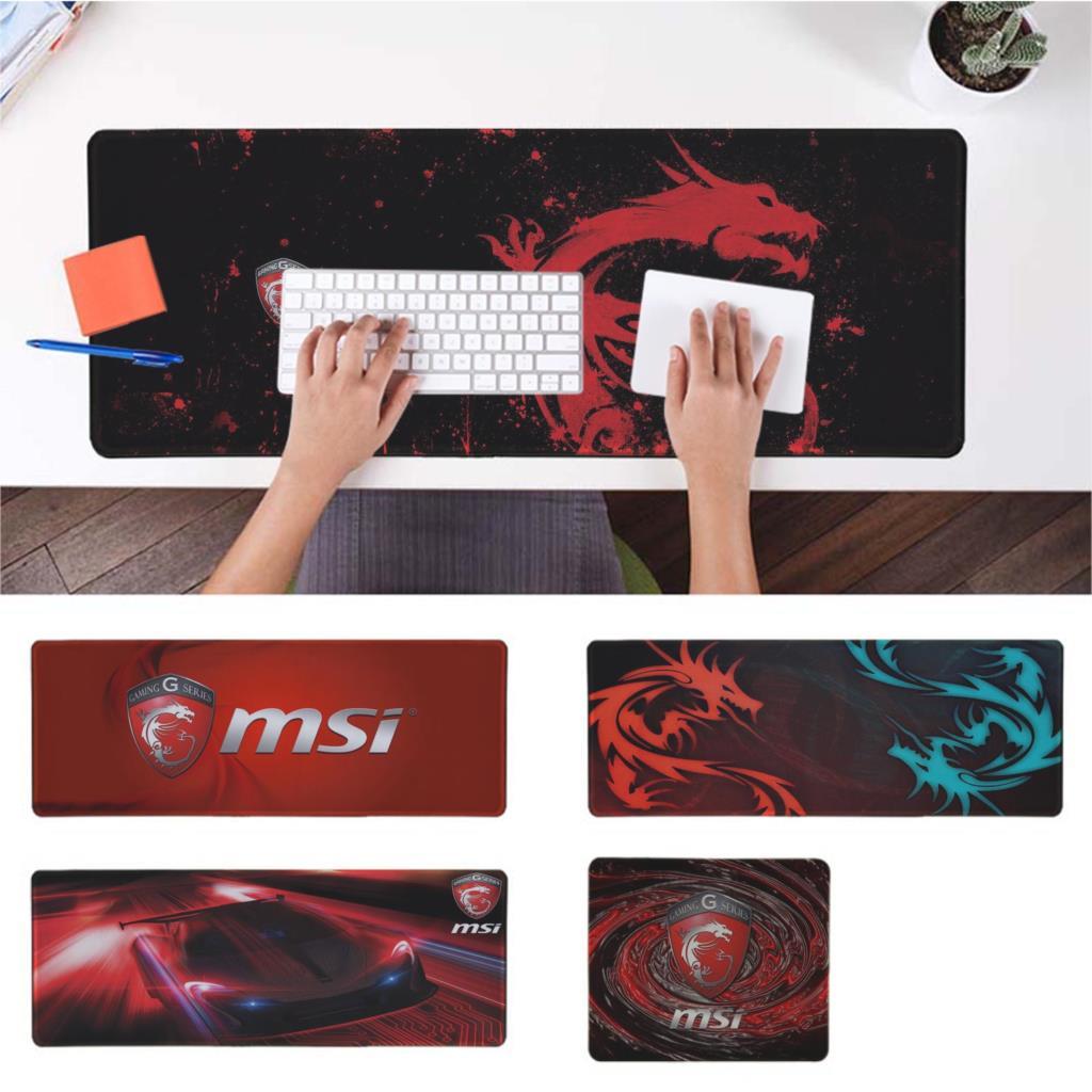 MaiYaCa Boy Gift Pad MSI Logo Gamer Play Mats Mousepad Free Shipping Large Mouse Pad Keyboards Mat