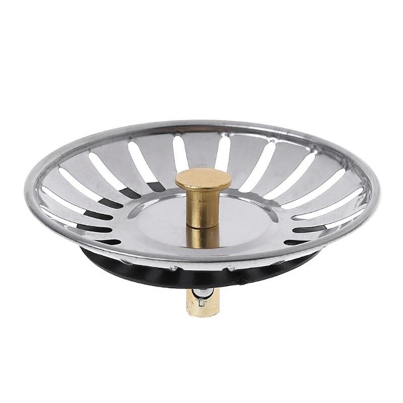 Нержавеющаясталь фильтр-пробка для кухонной раковины отходов Plug Раковина фильтр Защита от запаха пота Тип кран для раковины, кран для рако...