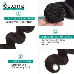 Image 3 - Body Wave Human Hair Bundles Brazilian Hair Weave Bundle Can Order 100% Remy Hair Extensions Can Buy 1/3/4 Bundles Gaterme hair