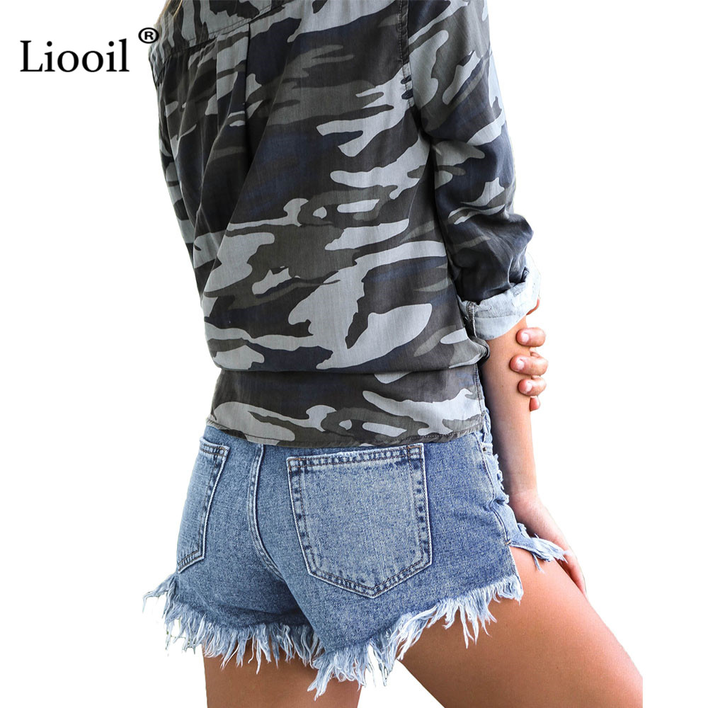 Cut Off Denim Shorts for Women Frayed Distressed Jean Short Cute Mid Rise Ripped Hot Shorts Comfy Stretchy 2
