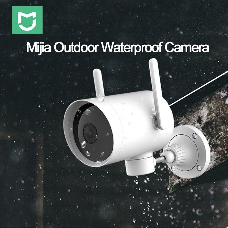2019Xiaomi Outdoor Camera IP66 Waterdichte WIFI Smart Camera 270 Hoek 1080P Dual Antenne Signaal IP Cam Nachtzicht Met Mijia APP