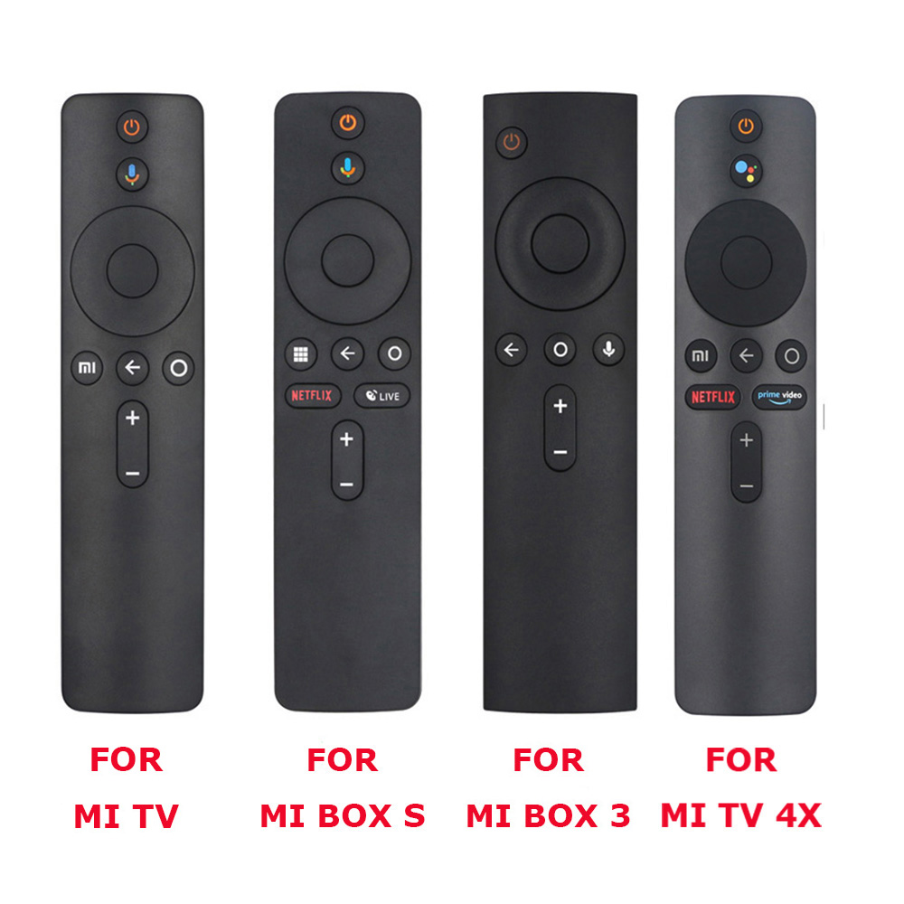 For Xiaomi Mi TV, Box S, BOX 3, MI TV 4X Voice Bluetooth Remote Control with the Google Assistant Control 1