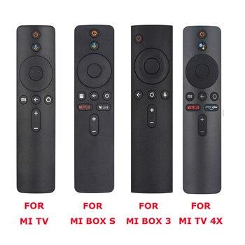 For Xiaomi Mi TV, Box S, BOX 3, MI TV 4X Voice Bluetooth Remote Control with the Google Assistant Control 1