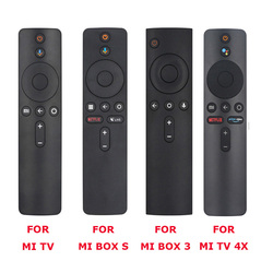 For Xiaomi Mi TV, Box S, BOX 3, MI TV 4X Voice Bluetooth Remote Control with the Google Assistant Control