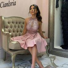 Блестящие бриллиантовые платья с бантом без рукавов трапециевидные