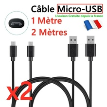 Pour Samsung For Huawei,sony,telephones Android,ps4,gps Cable Chargeur Usb Micro Usb