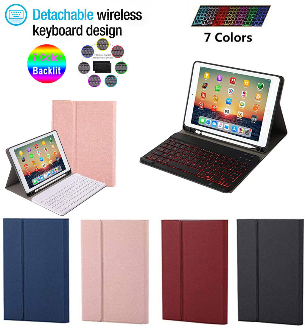 Best Selling 2019 Products Removable Backlit Bluetooth Keyboard Cover For For Apple Ipad 7th 10 2in2019 Support Dropshipping On Aliexpress
