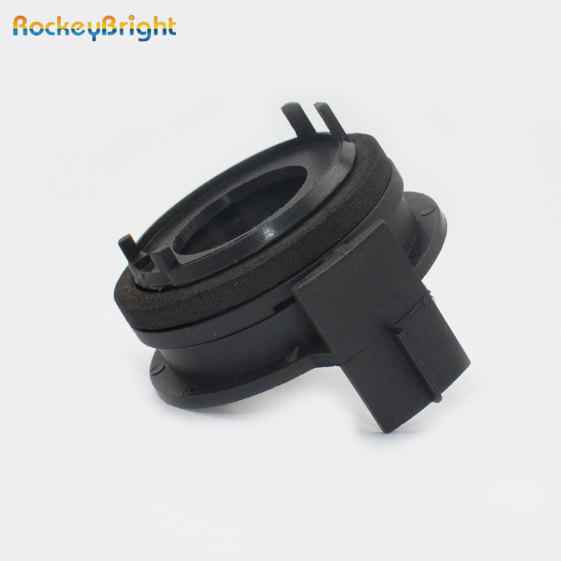 Rockeybright 10-50pcs H7 <font><b>Adapter</b></font> <font><b>led</b></font> clip Holders For <font><b>BMW</b></font> <font><b>E46</b></font> 3 Series 325ci 325i 330ci 330i 328Ci <font><b>led</b></font> H7 Headlight <font><b>Adapters</b></font> image