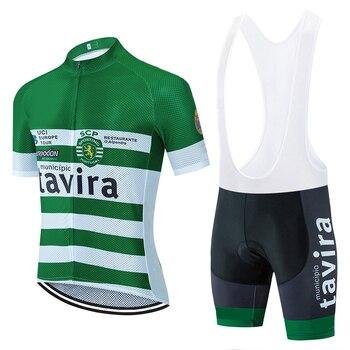 2020 equipo Tamira de manga corta ciclismo jersey 20D Fluor bicicleta pantalones...
