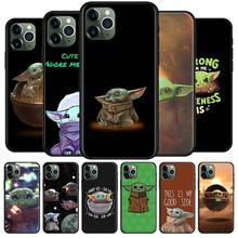 Lovely Baby Yoda Silione case for iPhone