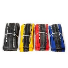 Original Michelin LITHION 2/3 Rennrad Reifen 700 * 23C Punktion 260g Licht 700C Blau Rot Schwarz Gelb Reifen radfahren Fahrrad Reifen