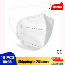10 PCS KN95 Face Masks Anti-fog Protective Mask Safety Dustproof Masks Anti-infection 95% Filtration N95 Mask Feature as FFP2