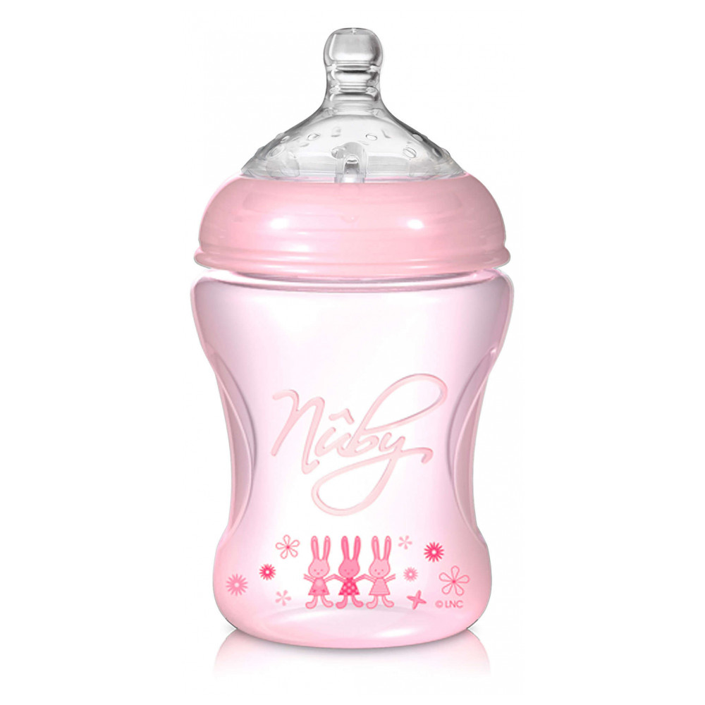 Mother & Kids Feeding Bottle Bottles Nuby 823382