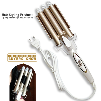 hair care & styling tools curler iron hair curling irons rotating style curl hair styler Ceramic Anti-Scald Wave Curler  4 1