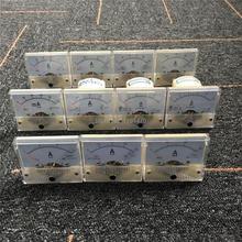 85C1 Analogico Amp Panel Meter Corrente Amperometro Puntatore Meccanico Calibro DC 100mA 2A 5A 10A 15A 20A 30A 50A 75A 100A 200A 64x56 millimetri