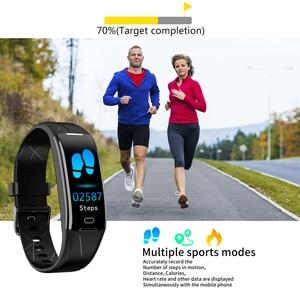 Image 5 - Eyefun smart watch es smartband דם לחץ smart watch דם לחץ חמצן קצב לב smart watch es אנדרואיד שעון 0.96 ips