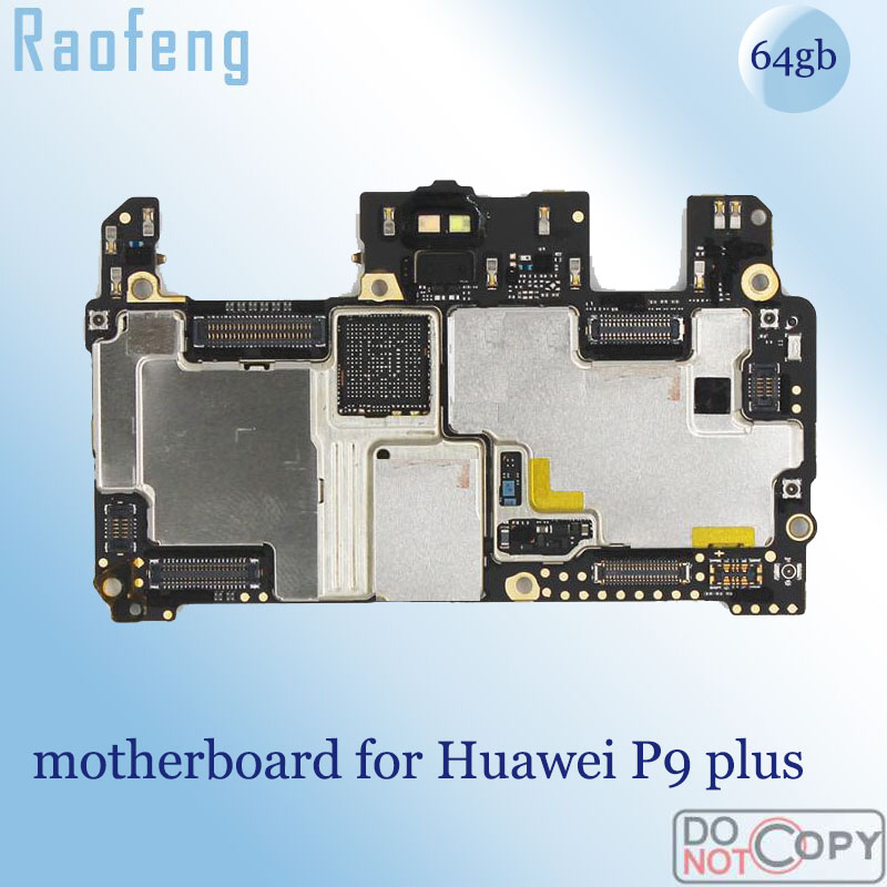 Raofeng for Huawei P9 Plus Unlocked Mainboard Whole-Function 64GB with Chips