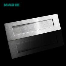 Домашняя почтовая коробка тарелки в форме букв для наружной двери дома гостиницы адрес табличка почтовый ящик