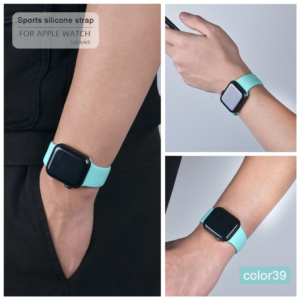 Soft Silicone Band for Apple Watch 106