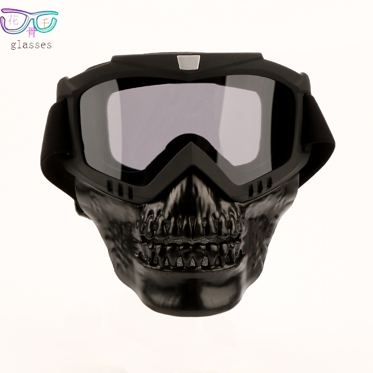 Hot Selling Goggles Mask Off-road Goggles For Motorcycle Splittable Devil Chin Bicycle Glass Five-Color Currently Available
