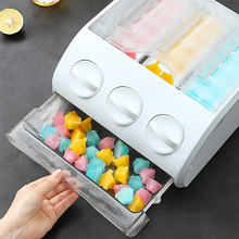 New Multi-Functional Refrigerator Storage Drawer Ice Cube Making Mould Box Popsicle Molds Maker Tray Making DIY Bar Home Gadget