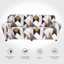 Stretch Sofa Covers Furniture Protector Polyester Loveseat Couch Cover l 1/2/3/4 seater Arm Chair Cover for Living Room